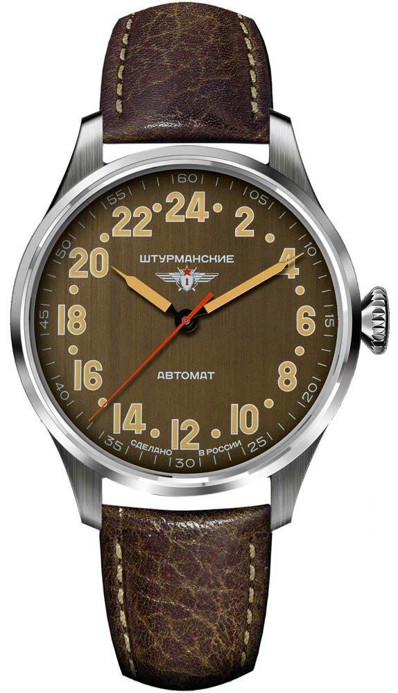 Фото - Мужские часы Штурманские 2431-6821343 бензиновая виброплита калибр бвп 13 5500в