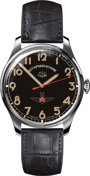 Мужские часы Штурманские 2609-3707129 полет мужские российские наручные часы полет 40000001