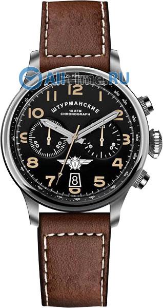 цена Мужские часы Штурманские VK64-3355851 онлайн в 2017 году