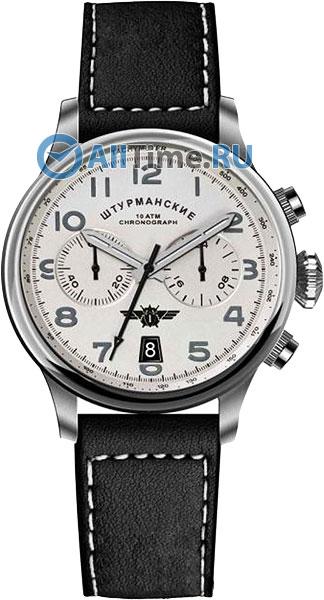 цена  Мужские часы Штурманские VK64-3355852  онлайн в 2017 году