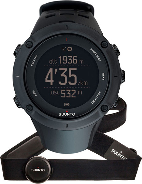 Мужские часы Suunto SS020674000 смарт часы suunto ambit3 vertical hr синий ss021968000