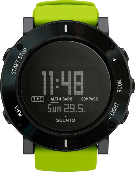 Мужские часы Suunto SS020693000 ремешок для suunto core leather коричневый