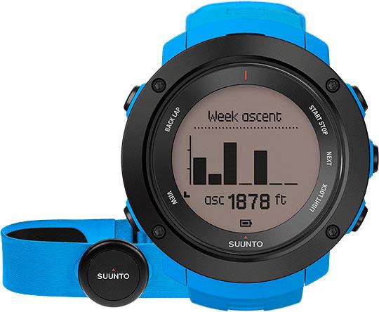 Мужские часы Suunto SS021968000 спортивные часы suunto ambit3 vertical lime hr ss021970000