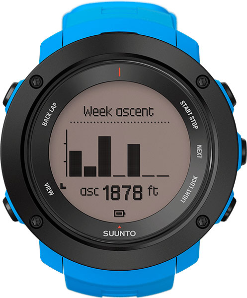 Мужские часы Suunto SS021969000 смарт часы suunto ambit3 vertical hr синий ss021968000