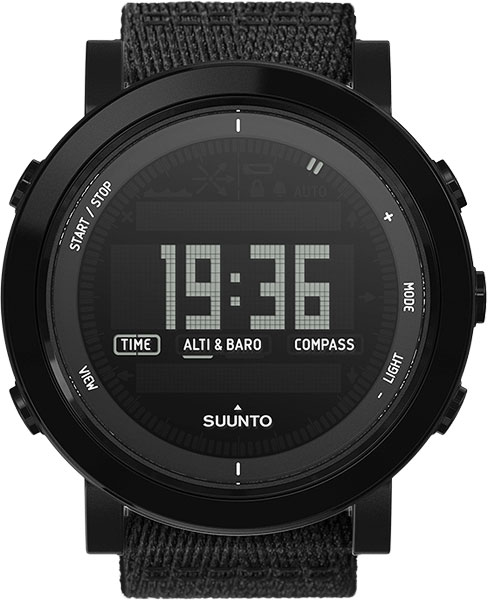 Мужские часы Suunto SS022438000 suunto essential ceramic all black