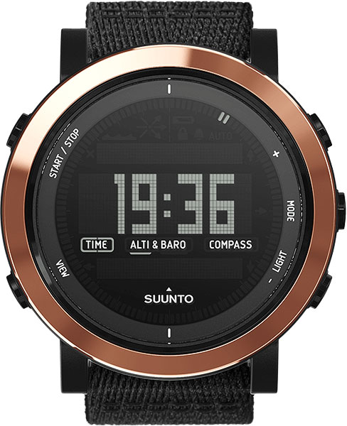 Мужские часы Suunto SS022440000 suunto essential ceramic all black