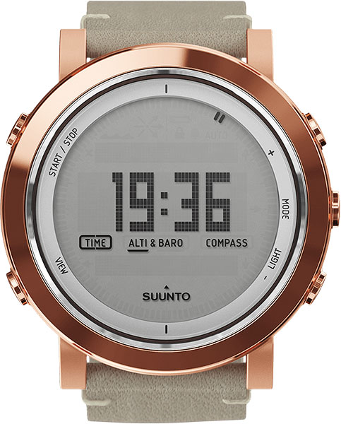 Мужские часы Suunto SS022441000 suunto essential ceramic copper black tx