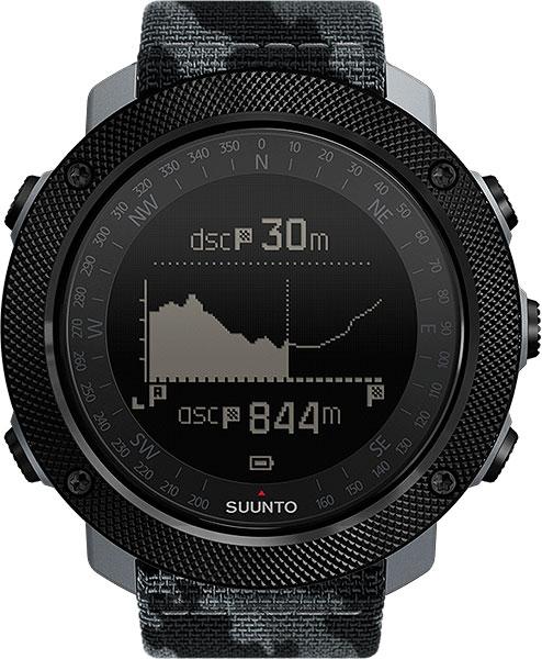 Мужские часы Suunto SS023446000 suunto traverse alpha stealth