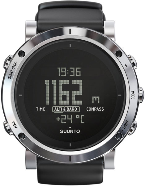 Мужские часы Suunto SS020339000 suunto core brushed steel brown leather