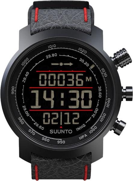 Мужские часы Suunto SS019171000 suunto elementum terra black red leather