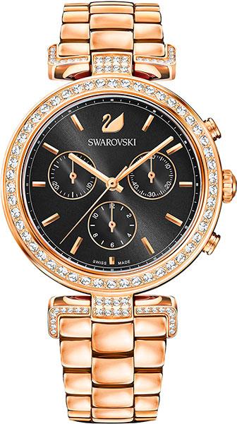 Женские часы Swarovski 5295366 genuine pet shop 577 brown white
