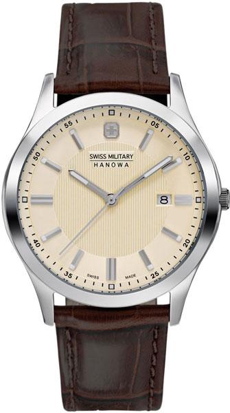 Фото - Мужские часы Swiss Military Hanowa 06-4182.04.002 бензиновая виброплита калибр бвп 13 5500в