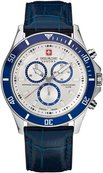 Швейцарские мужские часы в коллекции Aqua Мужские часы Swiss Military Hanowa 06-4183.7.04.001.03 фото