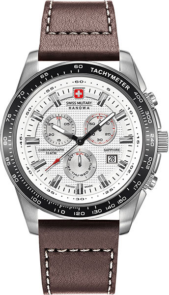 Мужские часы Swiss Military Hanowa 06-4225.04.001-ucenka мужские часы hanowa 16 4042 02 002 ucenka