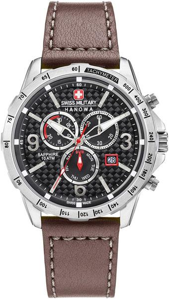 Мужские часы Swiss Military Hanowa 06-4251.04.007 swiss kubik шкатулка для часов swiss kubik sk08 cv003 wp