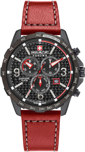 Мужские часы Swiss Military Hanowa 06-4251.13.007 swiss kubik шкатулка для часов swiss kubik sk08 cv003 wp