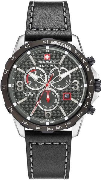 Мужские часы Swiss Military Hanowa 06-4251.33.001-ucenka мужские часы hanowa 16 4042 02 002 ucenka