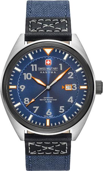 Мужские часы Swiss Military Hanowa 06-4258.33.003-ucenka мужские часы hanowa 16 4042 02 002 ucenka