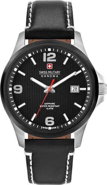 Мужские часы Swiss Military Hanowa 06-4277.33.007-ucenka мужские часы hanowa 16 4042 02 002 ucenka