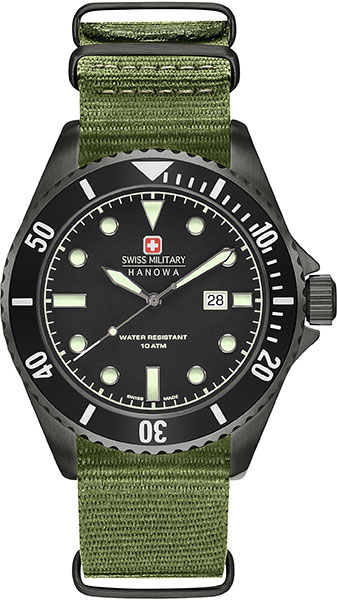 Мужские часы Swiss Military Hanowa 06-4279.13.007
