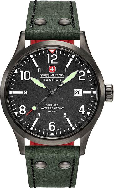 Мужские часы Swiss Military Hanowa 06-4280.13.007.06 swiss kubik шкатулка для часов swiss kubik sk08 cv003 wp