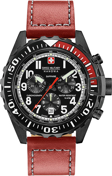 Мужские часы Swiss Military Hanowa 06-4304.13.007