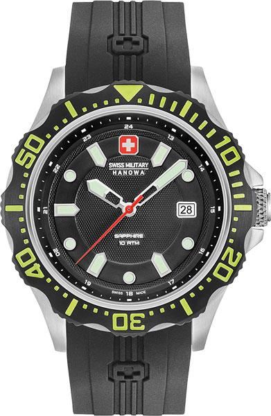 Мужские часы Swiss Military Hanowa 06-4306.04.007.06 swiss kubik шкатулка для часов swiss kubik sk08 cv003 wp