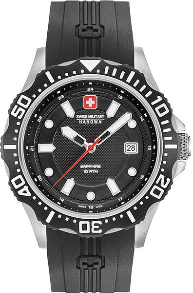 Мужские часы Swiss Military Hanowa 06-4306.04.007 swiss kubik шкатулка для часов swiss kubik sk08 cv003 wp