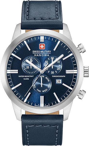 Мужские часы Swiss Military Hanowa 06-4308.04.003