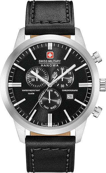 Мужские часы Swiss Military Hanowa 06-4308.04.007