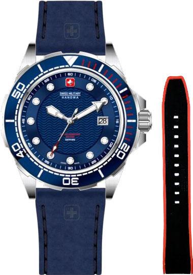 Мужские часы Swiss Military Hanowa 06-4315.7.04.003SET