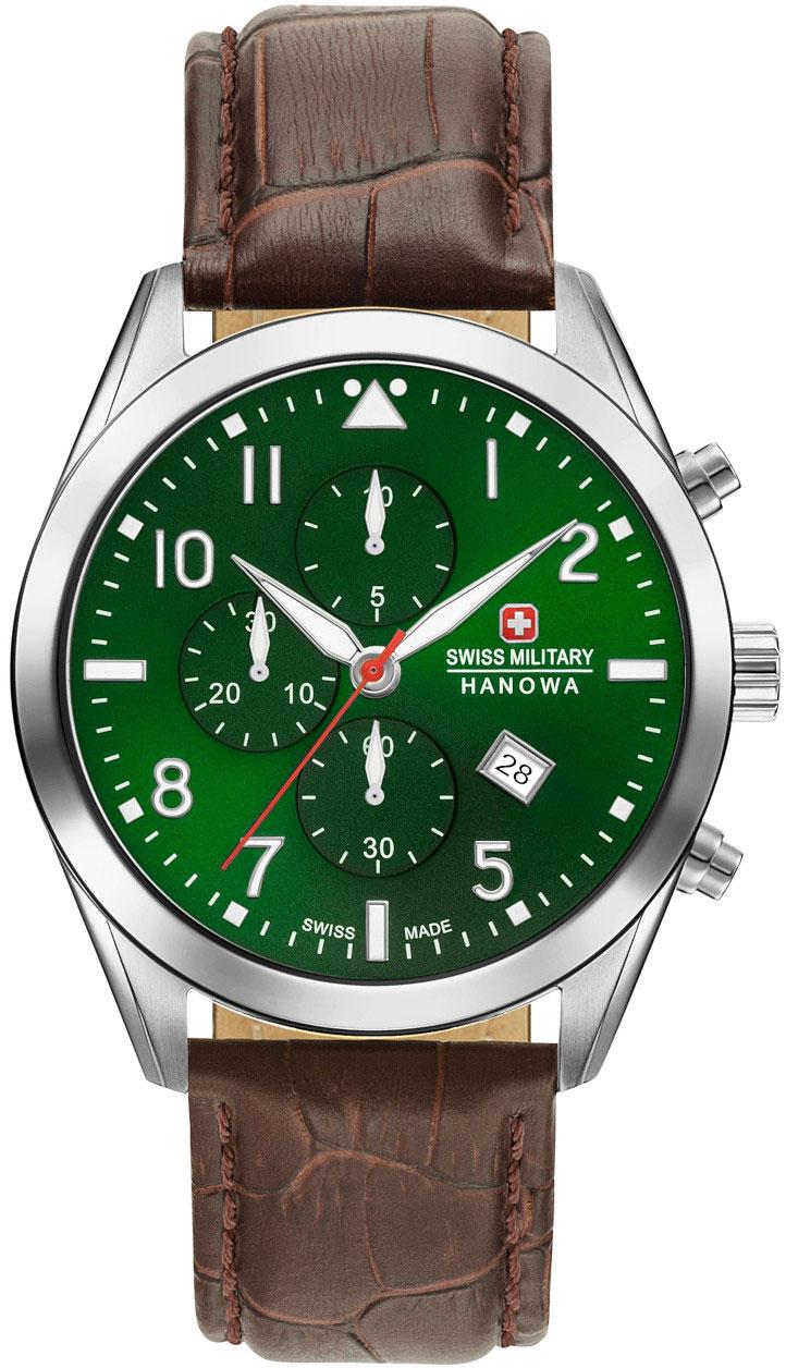 Мужские часы Swiss Military Hanowa 06-4316.7.04.006 цена