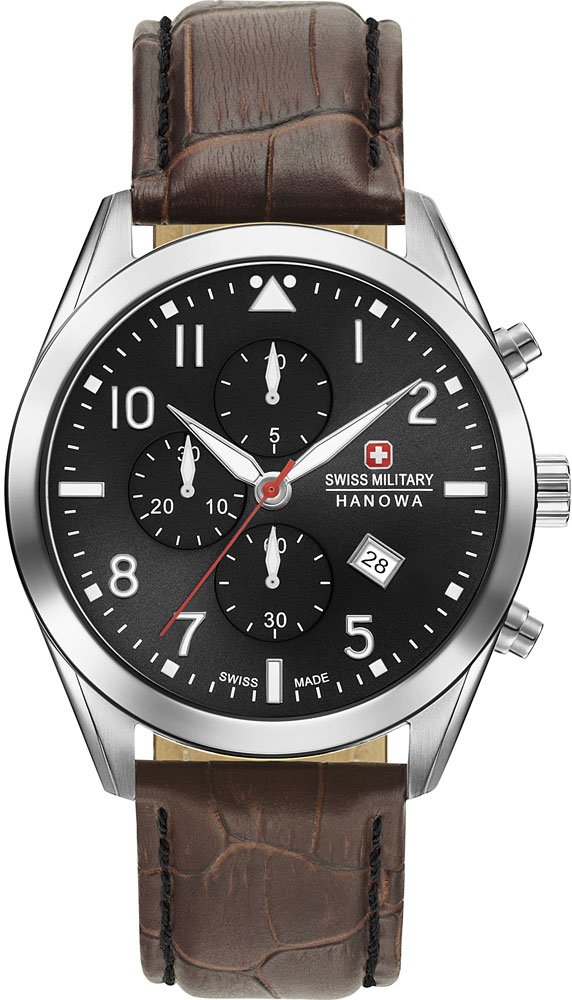 лучшая цена Мужские часы Swiss Military Hanowa 06-4316.7.04.007