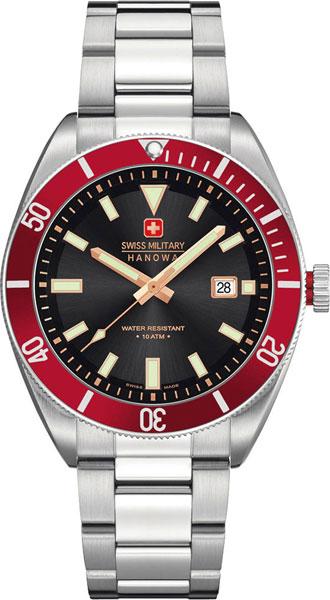 Мужские часы Swiss Military Hanowa 06-5214.04.007.04 мужские часы swiss military hanowa 06 4279 04 007 03