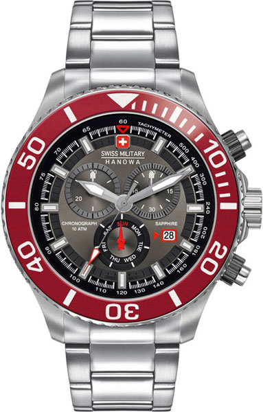Мужские часы Swiss Military Hanowa 06-5226.04.009
