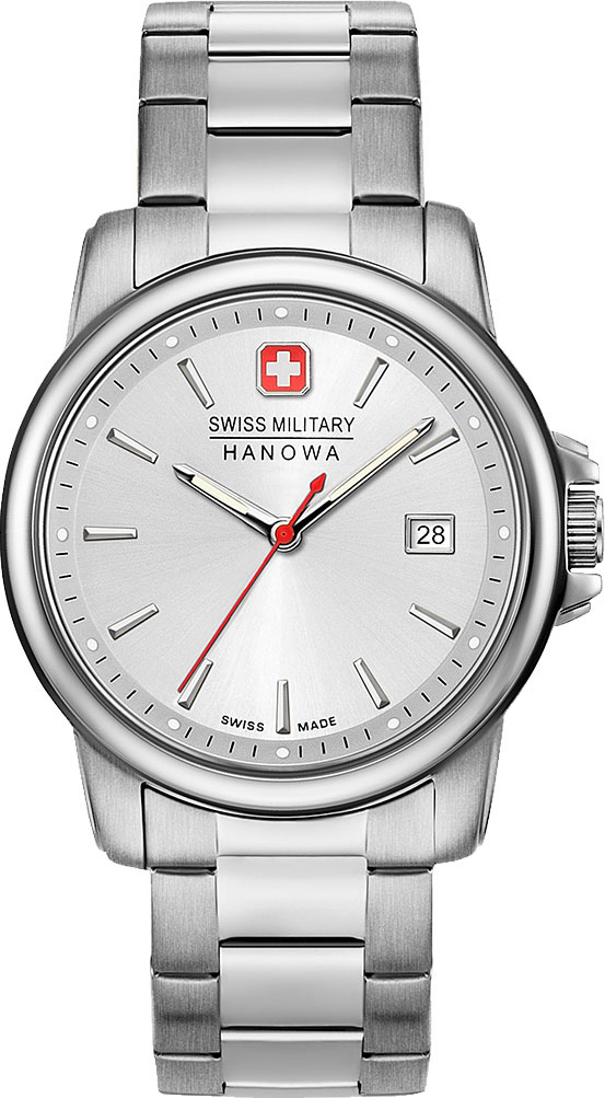 цена Мужские часы Swiss Military Hanowa 06-5230.7.04.001.30 онлайн в 2017 году