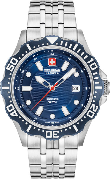Мужские часы Swiss Military Hanowa 06-5306.04.003 swiss kubik шкатулка для часов swiss kubik sk08 cv003 wp
