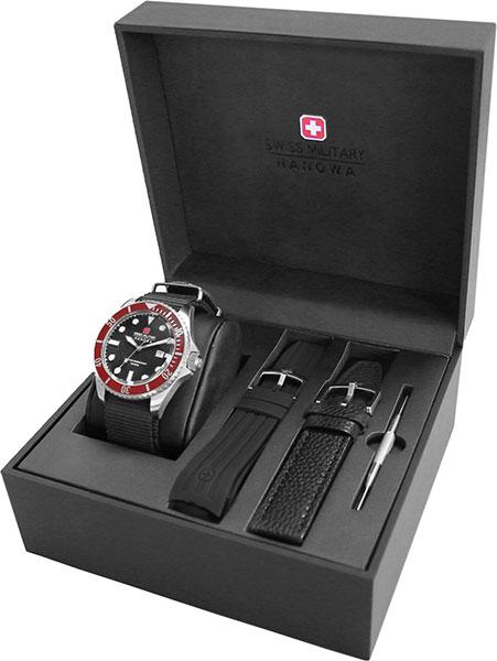 Мужские часы Swiss Military Hanowa 06-8279.04.007.04SET