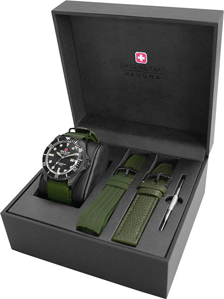 Мужские часы Swiss Military Hanowa 06-8279.13.007SET