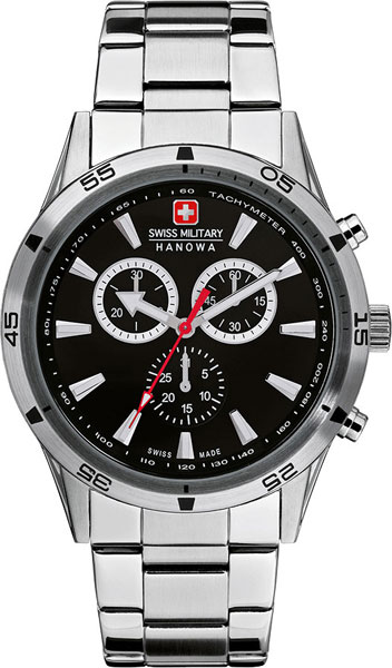 Мужские часы Swiss Military Hanowa 06-8041.04.007 swiss military by chrono sm34002 03 04