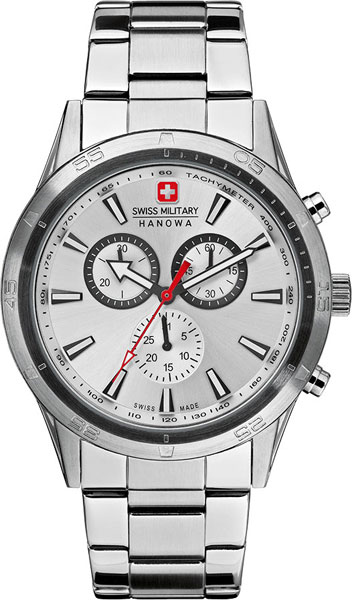 Мужские часы Swiss Military Hanowa 06-8041.04.001 swiss military by chrono sm34002 03 04