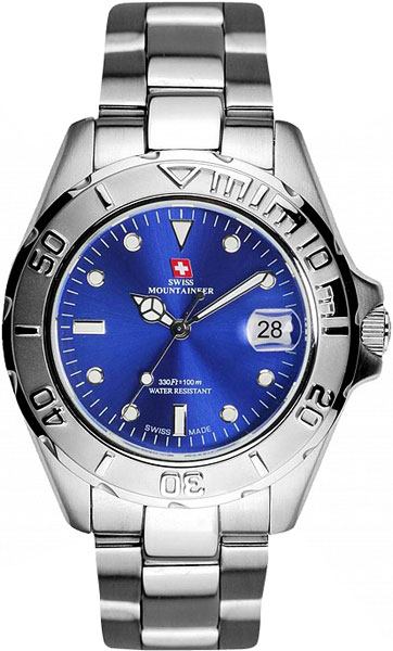 Мужские часы Swiss Mountaineer SM1072 женские часы swiss mountaineer sm1512