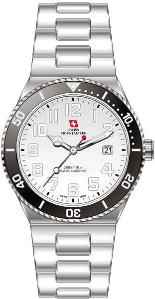 Мужские часы Swiss Mountaineer SM1104 romanson tl 9214 mj wh