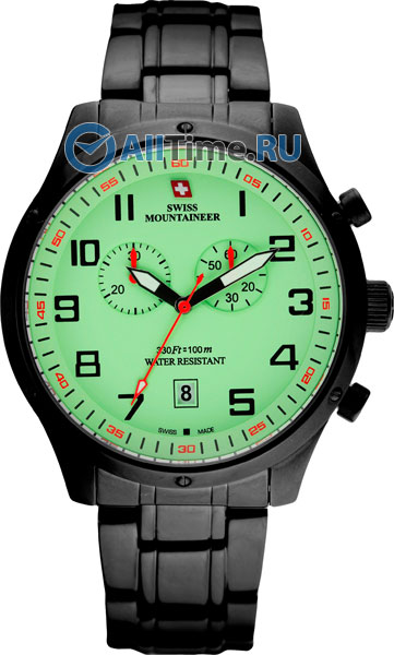 цена  Мужские часы Swiss Mountaineer SM1222  онлайн в 2017 году