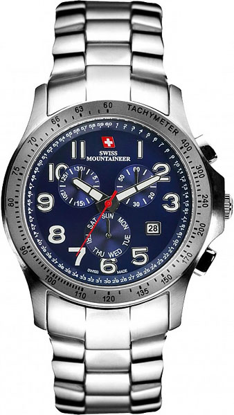 цена Мужские часы Swiss Mountaineer SM1313 онлайн в 2017 году