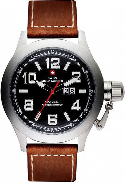 цена Мужские часы Swiss Mountaineer SM1400 онлайн в 2017 году