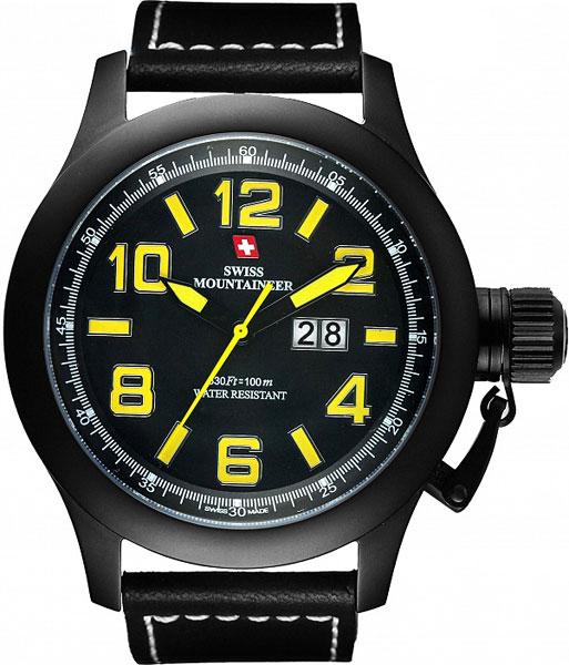 цена Мужские часы Swiss Mountaineer SM1401 онлайн в 2017 году