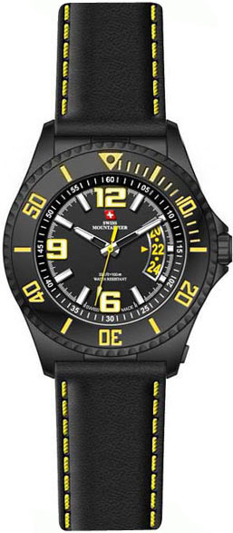Мужские часы Swiss Mountaineer SM1503 swiss kubik шкатулка для часов swiss kubik sk08 cv003 wp