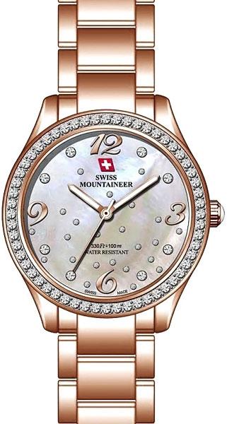 Женские часы Swiss Mountaineer SM1512 цены онлайн