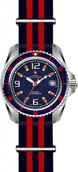 Мужские часы Swiss Mountaineer SM2002 женские часы swiss mountaineer sm1512